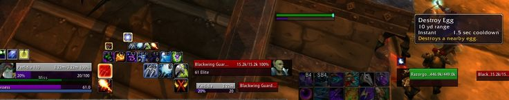 QoL change to Razorgore fight in BWL: Destroy egg is now instant cast. #worldofwarcraft #blizzard #Hearthstone #wow #Warcraft #BlizzardCS #gaming