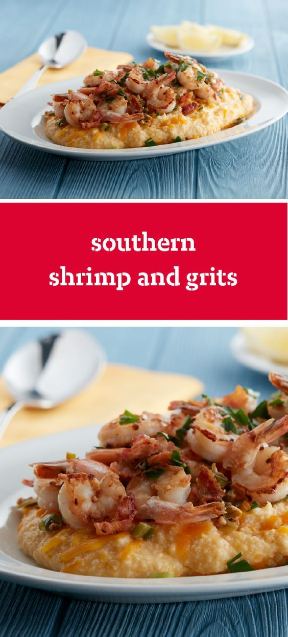 Southern Shrimp and Grits – Prepare our Southern Shrimp and Grits to get a taste of southern cooking on your dinner table! You'll find that this traditional dish is a cheesy delight that's ready in just 25 minutes.