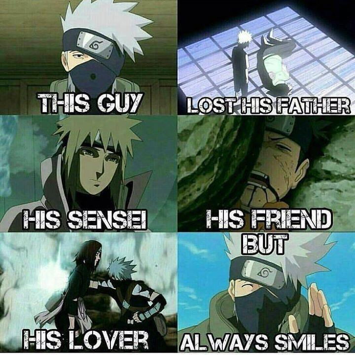 Poor Kakashi!!! I love him so much!!!