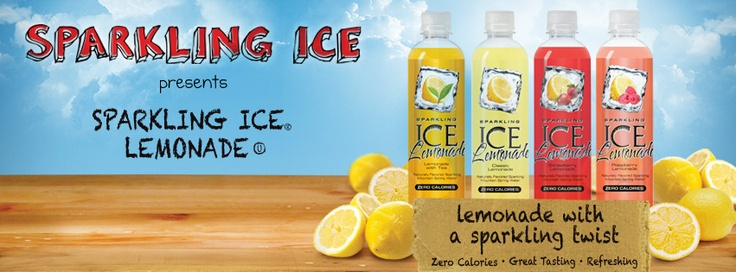 Sparkling ICE releases the new Sparkling ICE Lemonade Flavor
