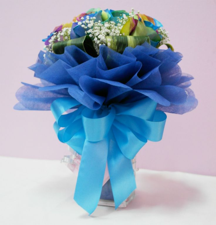 Best 25 rainbow roses ideas on pinterest different for Different color roses bouquet