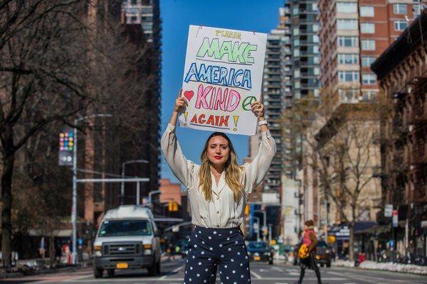 [People] Breanne Butler, tra le organizzatrici della Women's March: dar voce alle donne per creare il cambiamento, intervista di Loriana Lucciarini -  Foto Hiroko Masuike/The New York Times