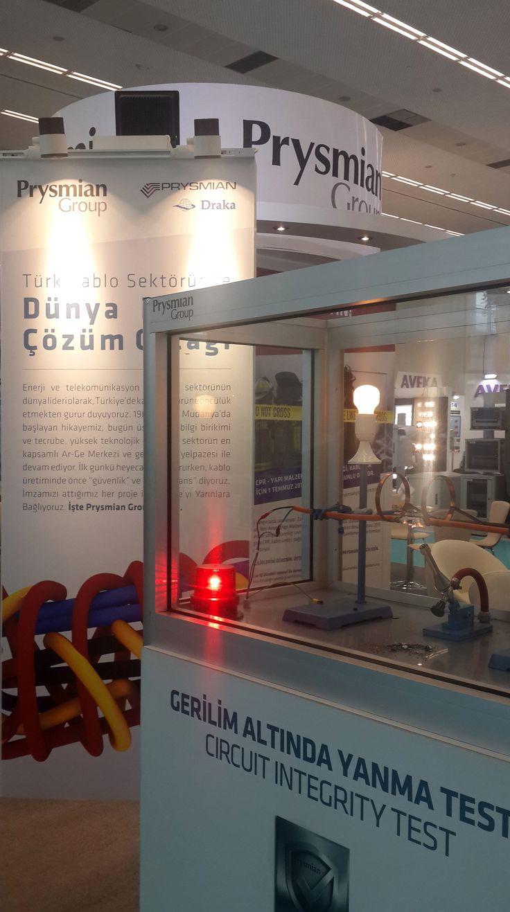 Prysmian Grup EBO Ankara Fuarı Stand Tasarım ve Uygulaması / Prysmian Group exhibition stand design and application #EBO2016 #prysmiangroup #prysmiancable #Ankara #Fuar #Standı #Exhibition #booth #design