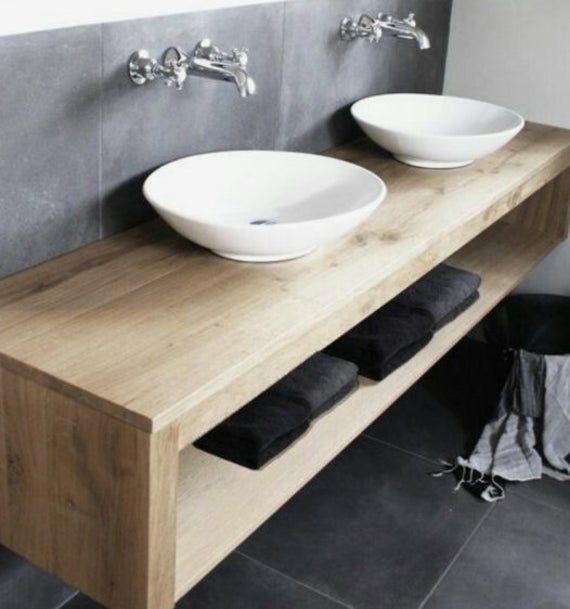 19++ Hardwood vanity bathroom diy