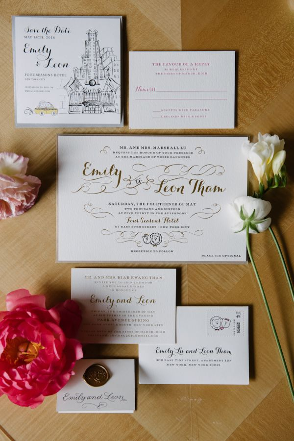 Classic NYC Wedding With A Whimsical Twist