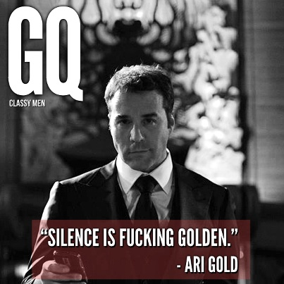 Ari gold. Legend