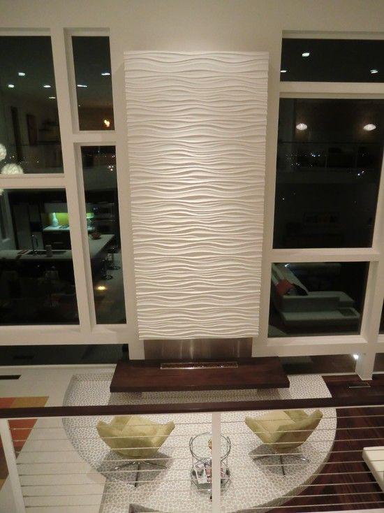 White Wave Tiles Kitchen