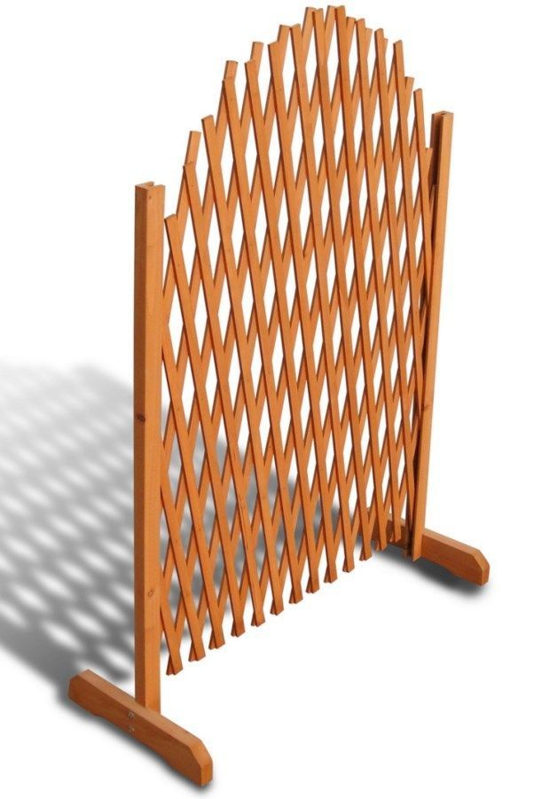 Wooden Trellis Fence Garden Climbing Plants Privacy Expanding Panel High  Quality