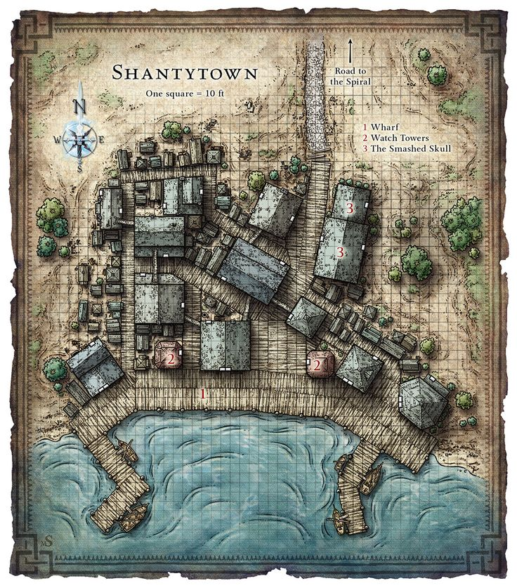 Tactical Game Maps by Mike Schley via
