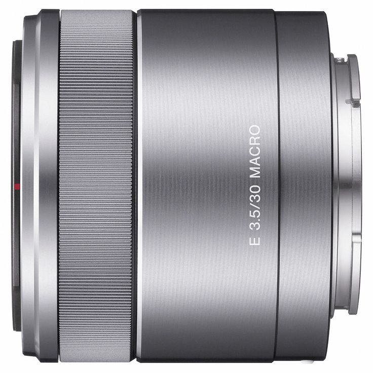 Sony E mount lens, F3.5 30mm - Black (SLE30M35)