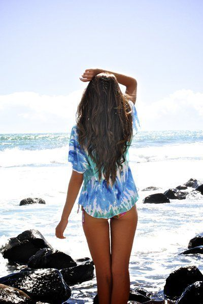 i want my hair just like this... I wouldn't mind my ass looking like that too! ;)Beach Pictures Hair, Sea Waves, Surf Sands, Long Hair, Sands Sun, Beautiful Ocean, Beach Life, Long Wavy Hair, The Sea