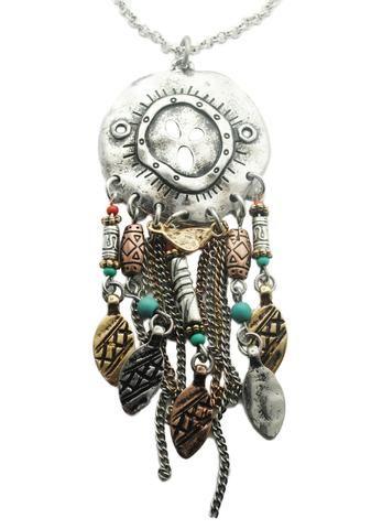 Bohemian Sand Dollar Necklace