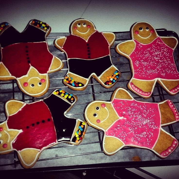 Strictly come dancing gingerbreads