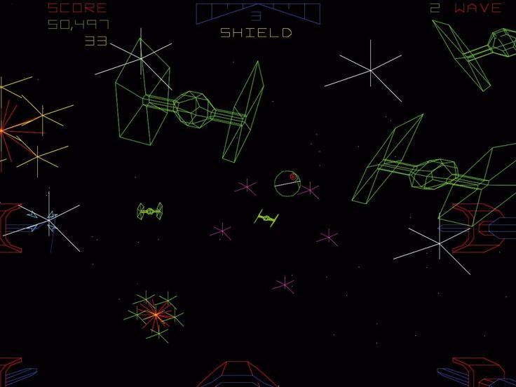 A long time ago - in a bed sit far far away. Atari Star Wars