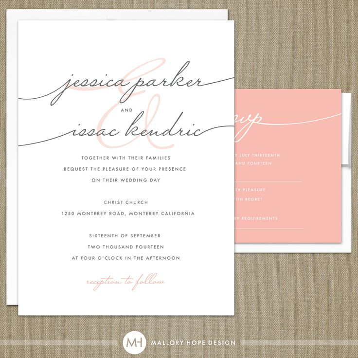 love the simplicity of this...and the dainty font.