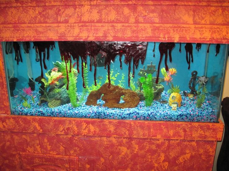 decorate your fish tank for halloween holiday love pinterest fish tanks halloween fun and halloween ideas