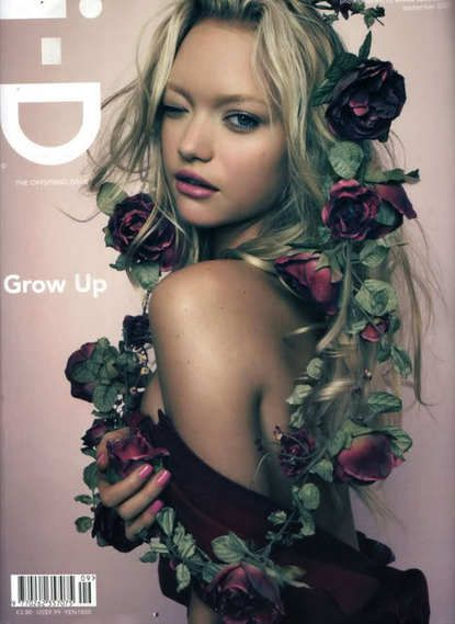 photography,cover,fashion,i-D magazine: Rose, Fashion, Gemmaward, Gemma Ward, Hair, Photography, Flower, I D