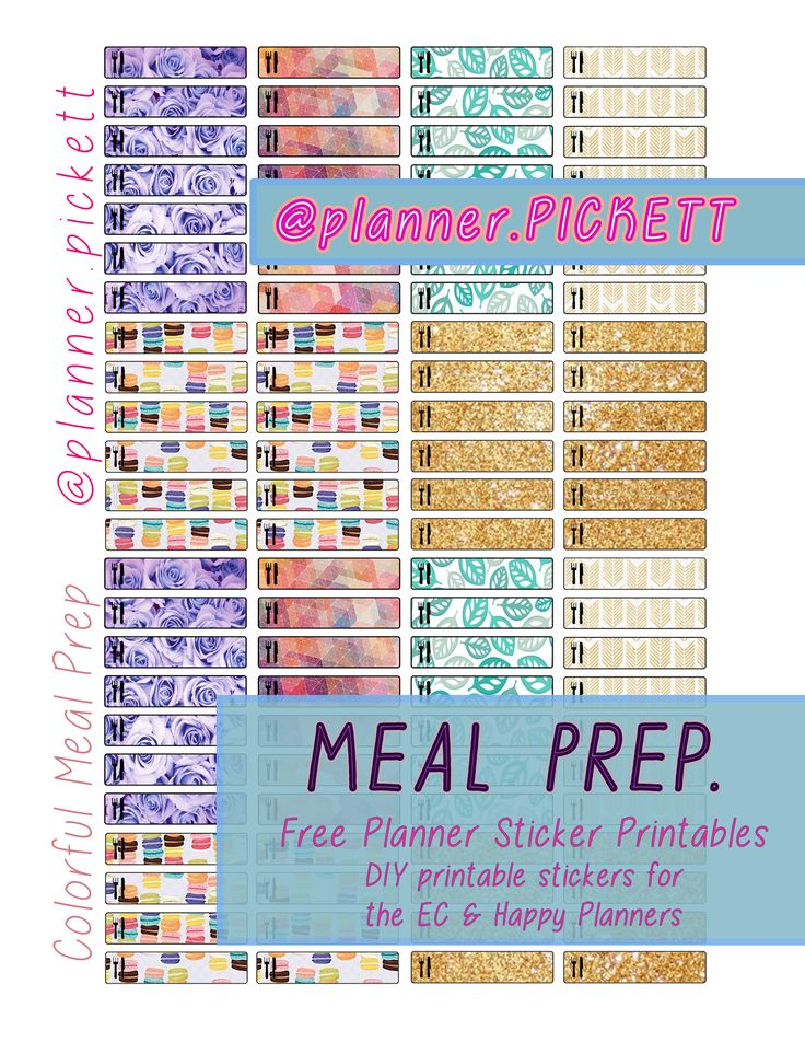 image about Free Printable Food Planner Stickers referred to as Printable Motivational Planner Stickers Style: No cost