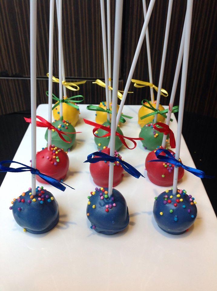 Cake pops de chocolate - Isabel Vermal