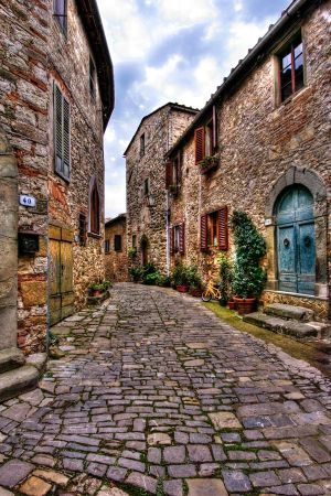 Village of Montefioralle, in the region of Tuscany, Italy, I'm in love with a place I've never been.