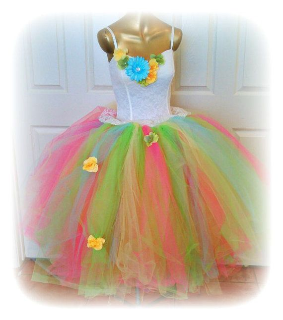 Adult tutu dress adult  tutu prom dress teen tutu dress by TutuHot, $110.00