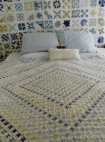 "Supergoof Quilts: ""Blauw en wit,..."""