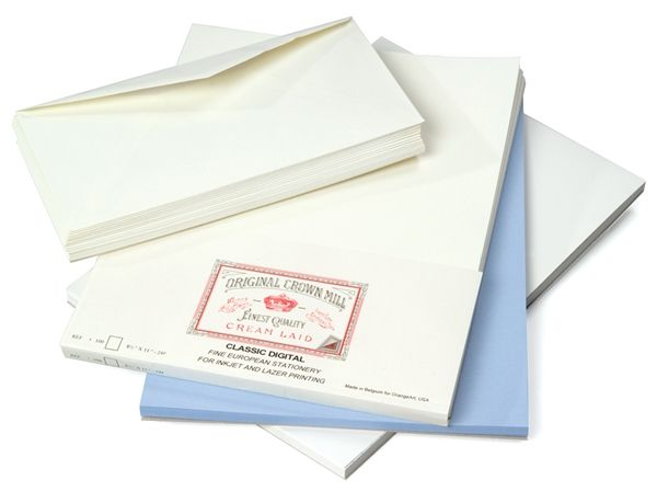 Classic Laid Business #10 Envelope Package - OCM453