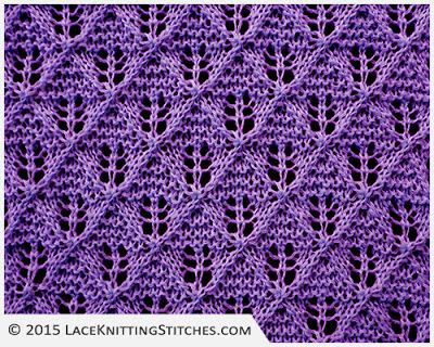 176 best Lace Knitting Stitches images on Pinterest Lace knitting stitches,...