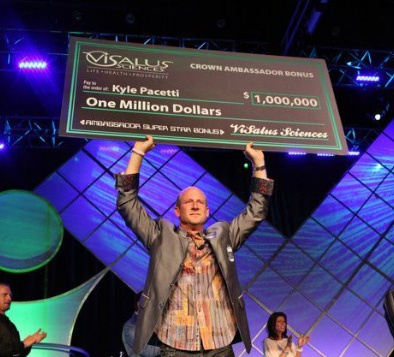 CONGRATULATIONS Kyle... another $1,000,000 Bonus! Get BIGGER CHECKS & Get Listed for FREE at http://MLMGods.com