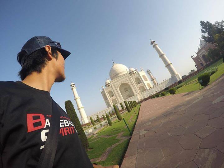 #mytajmemory インドのど真ん中ストライク受けてきた #aroundtheworld#travel#backpacker#gopro#goprojp#india#agra#世界一周#旅#バックパッカー#ゴープロ#インド#アーグラ by ononarin #IncredibleIndia #tajmahal