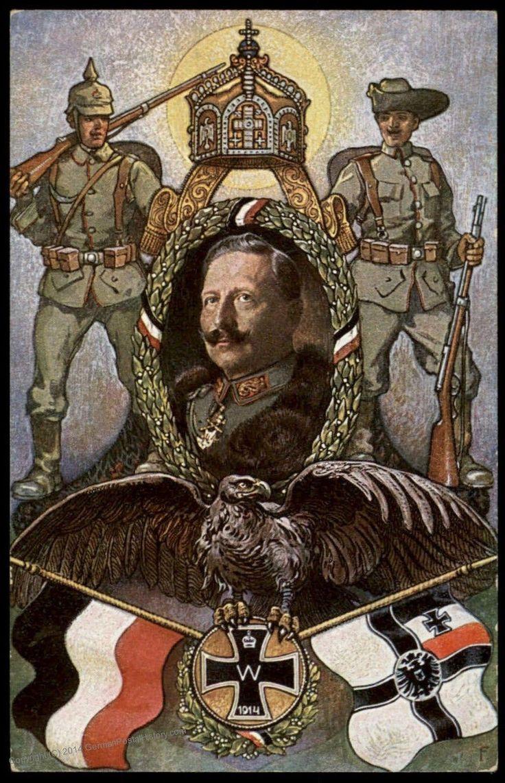 German East Africa Kaiser Wilhelm II WWI