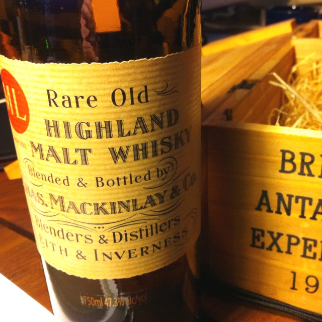 Ernest Shackleton Libro Mackinlay's Scotch (a Recreation Based On Recently
