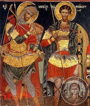 Фрески афонских монастырей, храмов и часовен