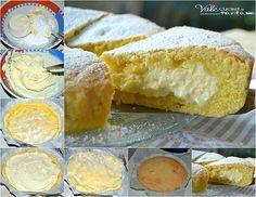 Crostata con crema di ricotta limone e mascarpone