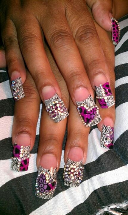 17+ Best Images About Bling Nails On Pinterest