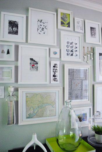 Photo wall inspiration