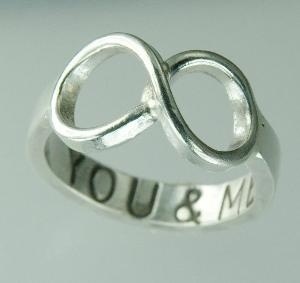 Absolutely love this ring!: Cute Rings, Style, Stuff, Wedding, Jewelry, Infinity Rings, Things, Infinity Symbol, Promise Rings