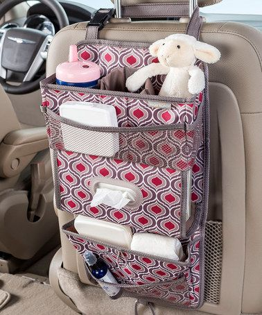 This Sahara TissuePockets™ Seat-Back Organizer is perfect! #zulilyfinds