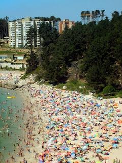Playa El Canelo, Algarrobo, Chile
