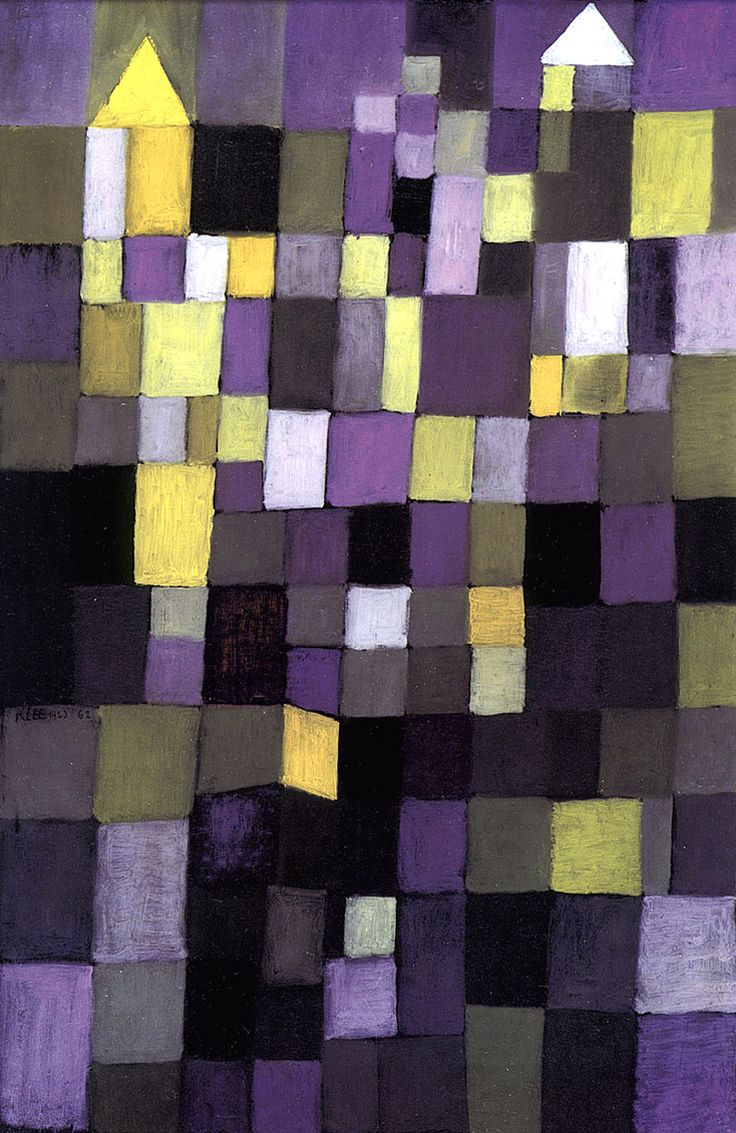 Paul Klee, Architecture, 1923.