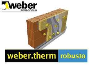weber.therm robusto della Weber Saint-Gobain