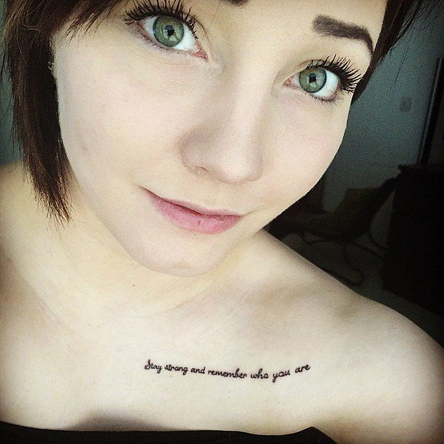 Best 25+ Inspiring Quote Tattoos Ideas On Pinterest