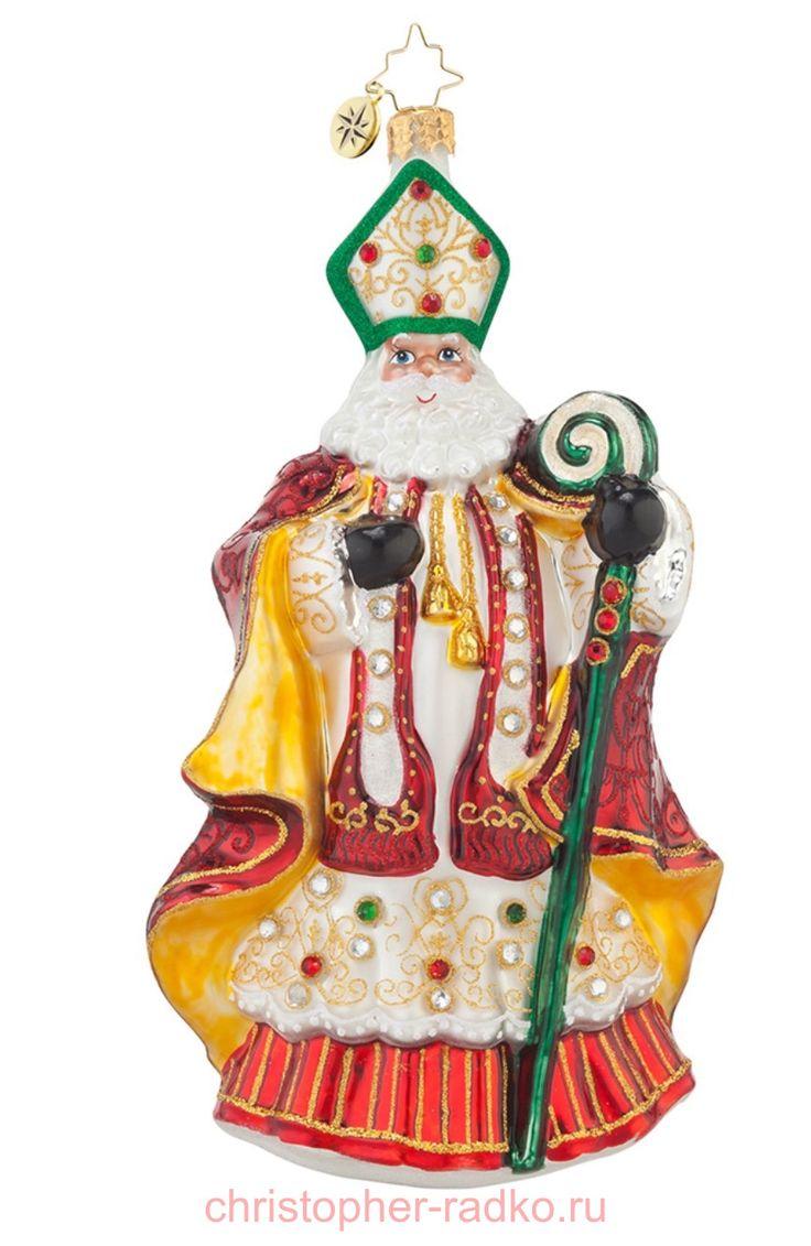 Елочная игрушка Святой Николай арт. 1017610