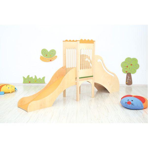 Kącik zabaw ze zjeżdżalnią #moje bambino   http://www.mojebambino.pl/wewnetrzne-place-zabaw/7440-kacik-zabaw-ze-zjezdzalnia.html