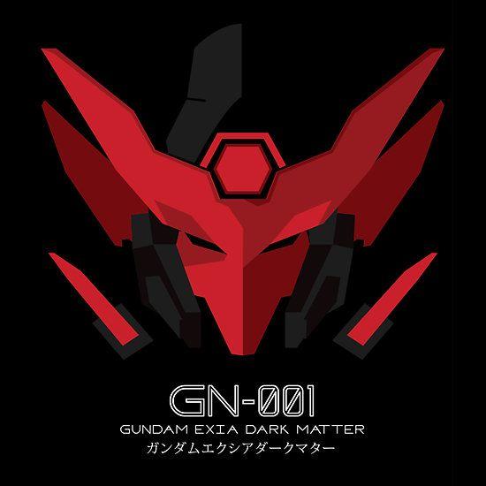 gundam exia dark matter unisex tshirt dark gundam