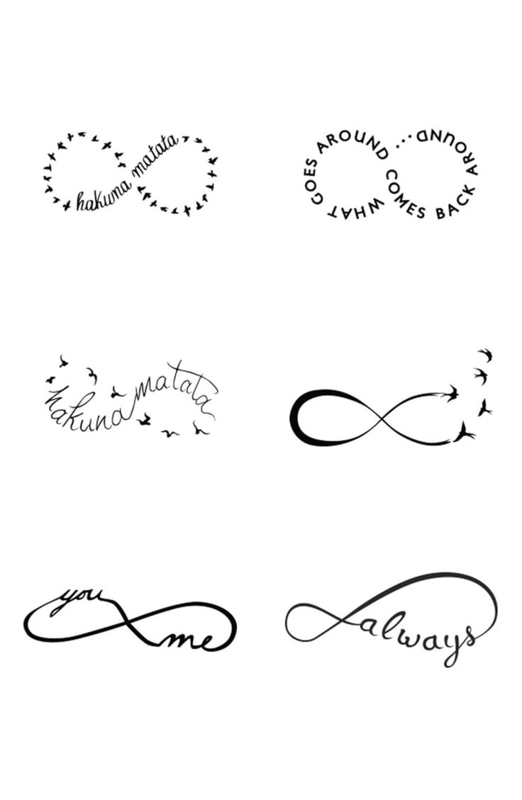 Free shipping and returns on Tattify™ 'Infinity Moods' Temporary Tattoos at No…   – tats