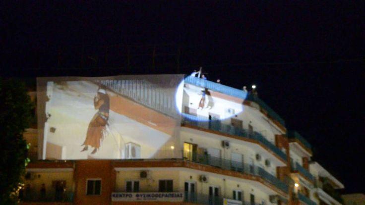 SEREXPO 2016 - Ο Tonis Sfinos κατεβαίνει με σχοινί από πενταόροφη οικοδομή!