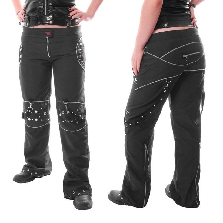 "HARD LEATHER STUFF ""Black Altair"" pants - size XL"