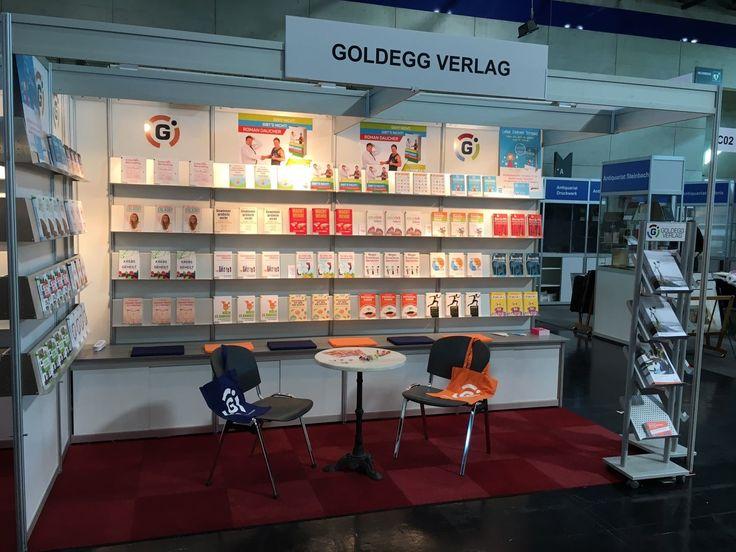 Goldegg Verlag auf der Buchmesse in Wien www.goldegg-verlag.com