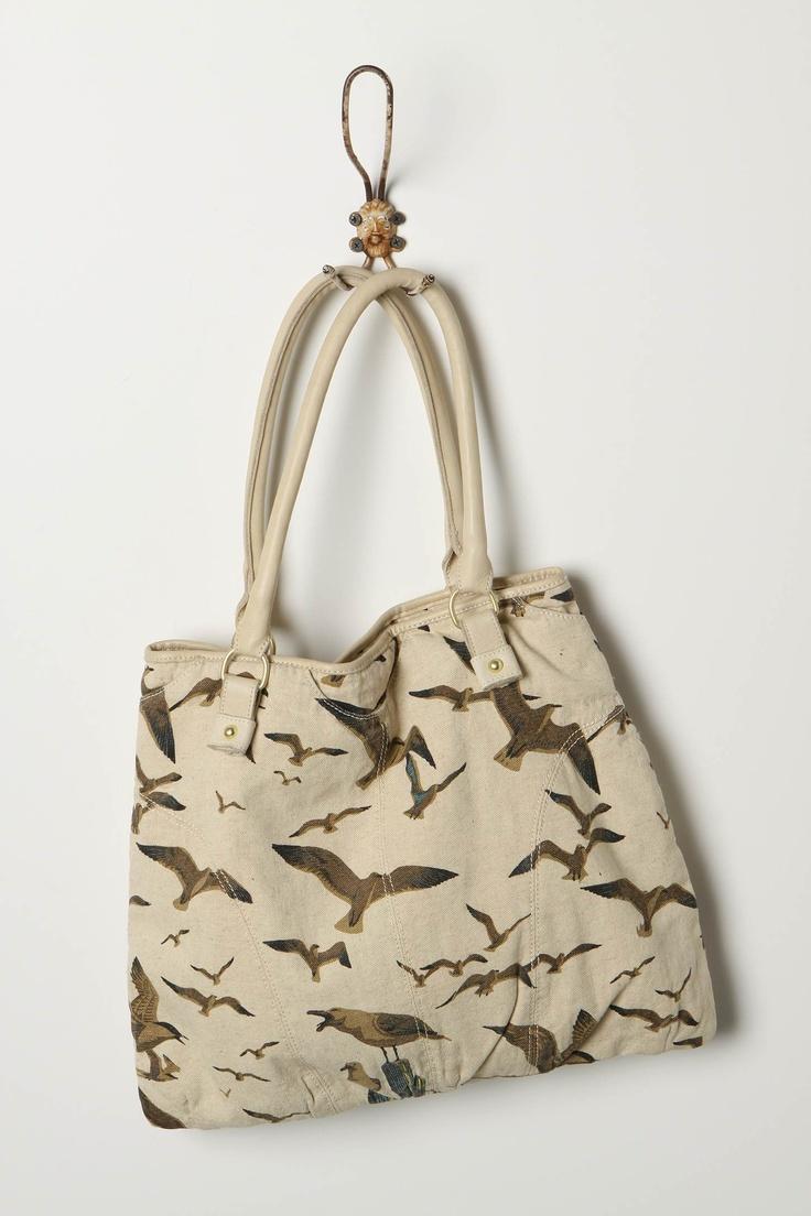 Seagull handbag.